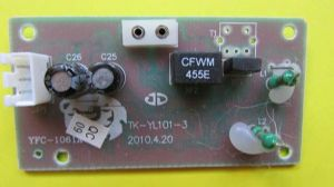 Receiver circuit board for 1/16 scale Heng Long tanks (smoke/sound)